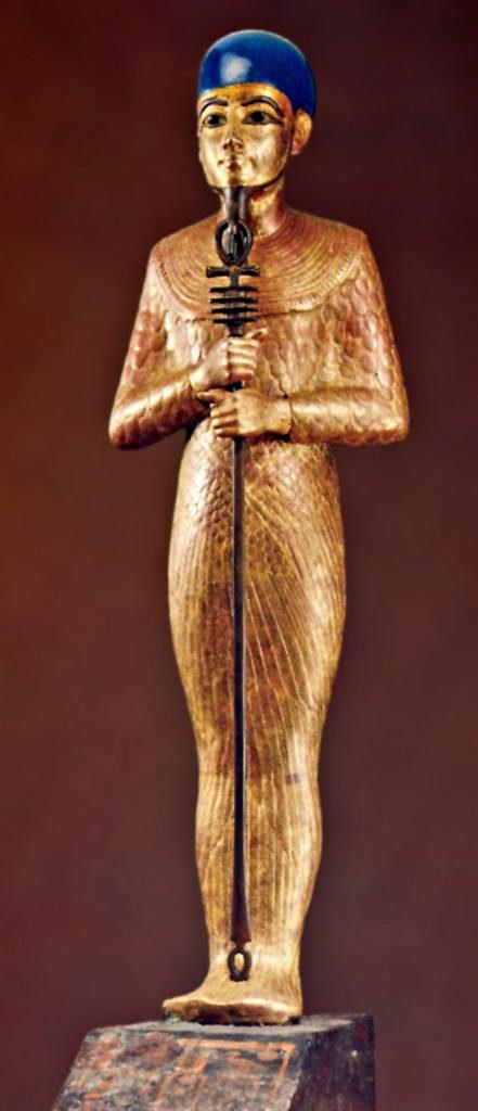 Статуэтка бога Птаха из гробницы Тутанхамона